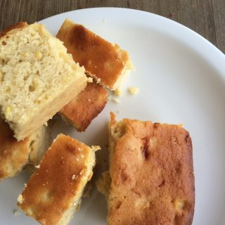 Cake-y Corn bread