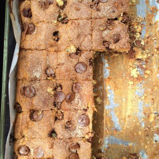 Disappearing Chocolate Chip Coffee Cake
