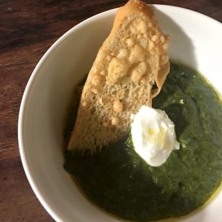 Blended Green Soup